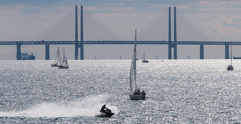 Öresundbrücke Dänemark Schweden