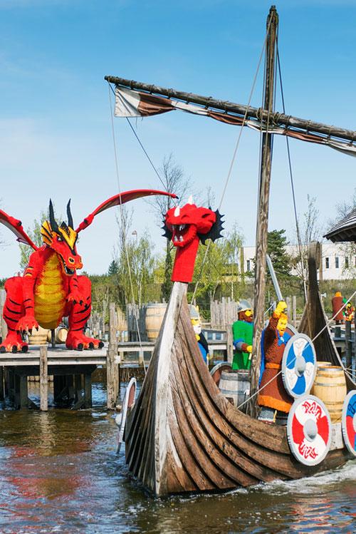 Drachen Welt im Lgoland Dänemark
