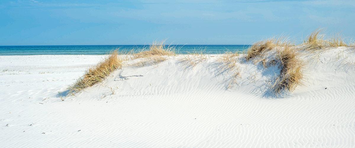 schone aussicht auf den ozean strande