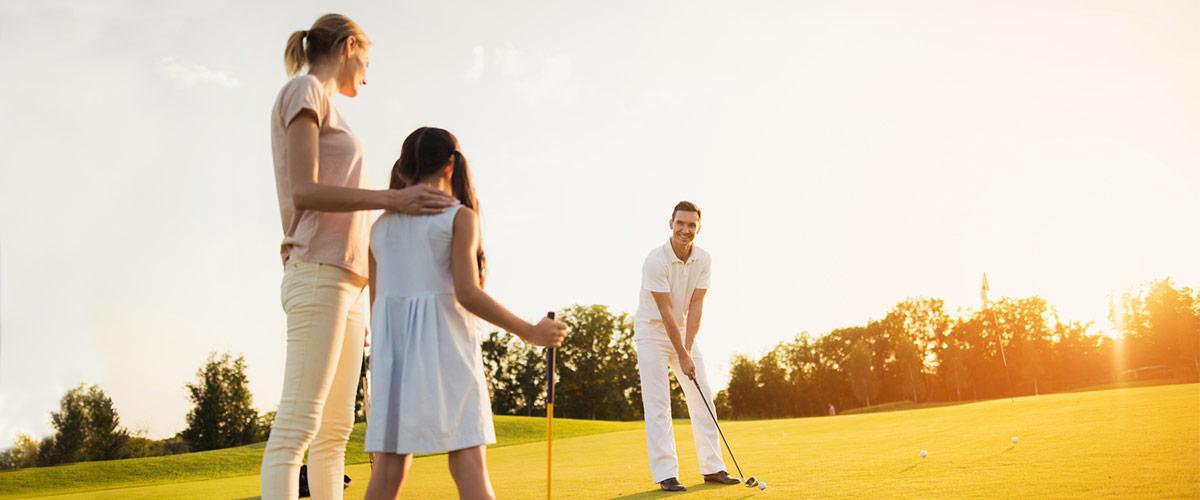 Golfen mit der ganzen Familie in Dänemark