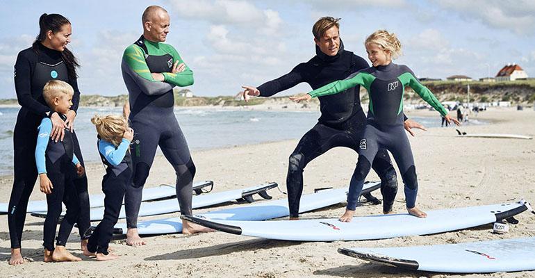 Surfkurse in Dänemark
